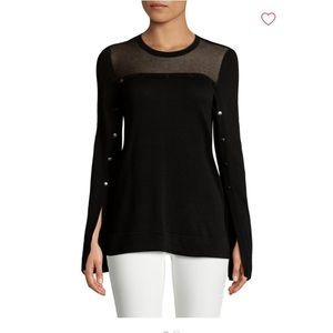 BCBGMAXAZARIA Illusion Sweater New Without Tags
